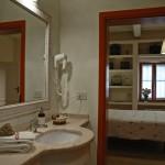 Dwttaglio di un bagno dell'appartamento Il Querciolo